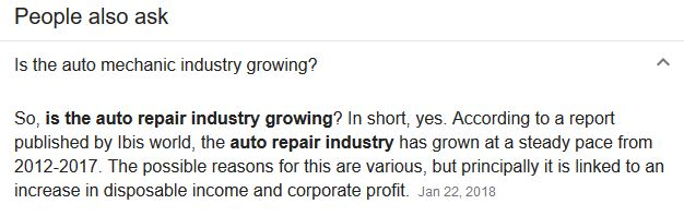 industry growth 2